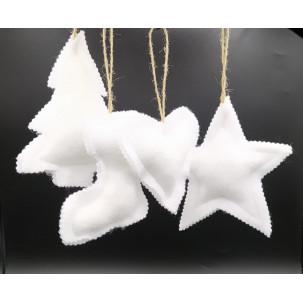 Adornos de Navidad White