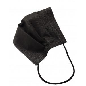 Mascarillas Quirúrgicas 3 capas negra (10 Uds)